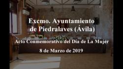Pleno de 8 de Marzo de 2019