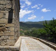 Piedralaves, Vista desde detrás de la Iglesia