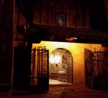 Piedralaves. Nocturno la Iglesia.