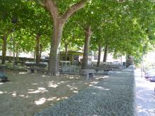 Vista del Parque Municipal, Piedralaves
