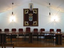Salón de Plenos del Ayuntamiento de Piedralaves