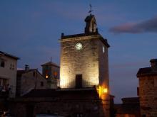 La Torre del Reloj y el Campanario de la Iglesia, Piedralaves